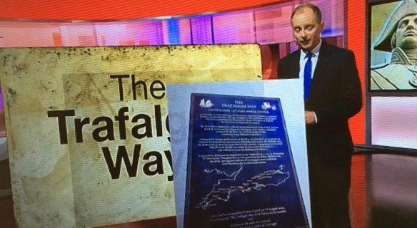 The Trafalgar Way on BBC news programme Spotlight