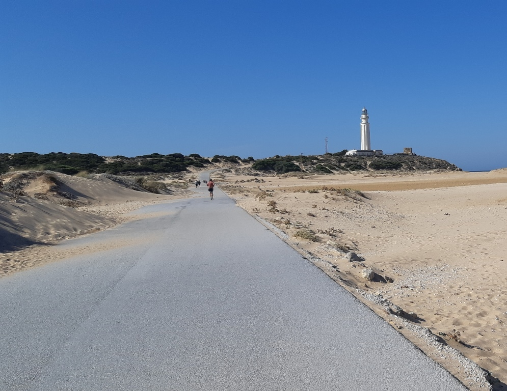 Road to Trafalgar Lighthouse